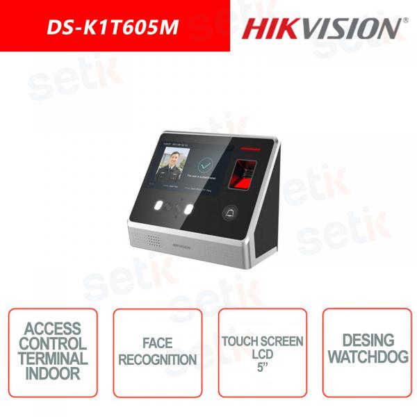 Postazione interna di controllo Hikvision - LCD 5 Pollici