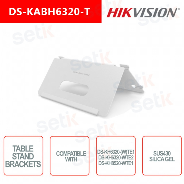 Indoor table mount for Hikvision video intercom