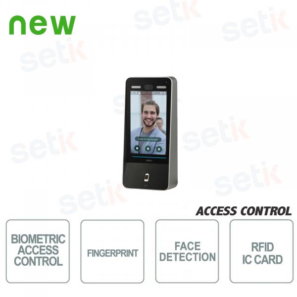 Lettore Biometrico - Viso/Impronte Digitali/Password - Dahua