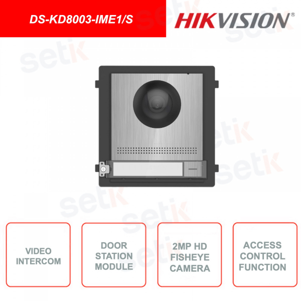 DS-KD8003-IME1 / S - Hikvision - Outdoor station - 2MP HD Video Intercom