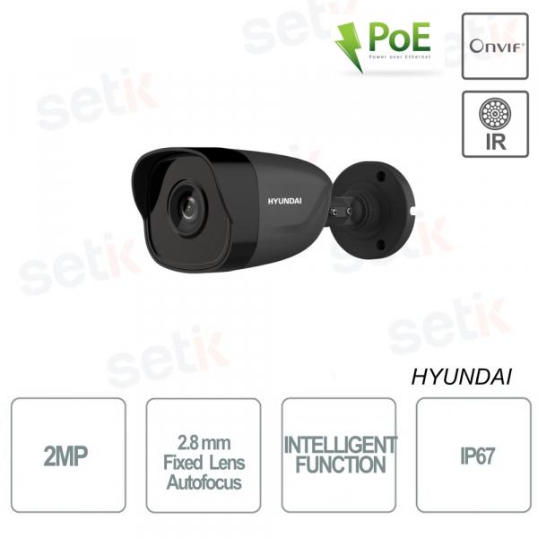 Hyundai Bullet 2MP IR30 Ottica Fissa 2.8mm Autofocus IP