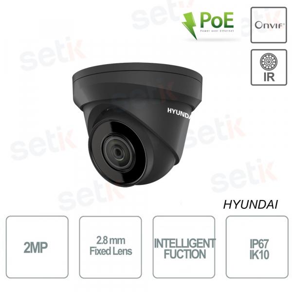 Hyundai Dome IP 2MP IR30 Fixed Lens 2.8mm IP IK10
