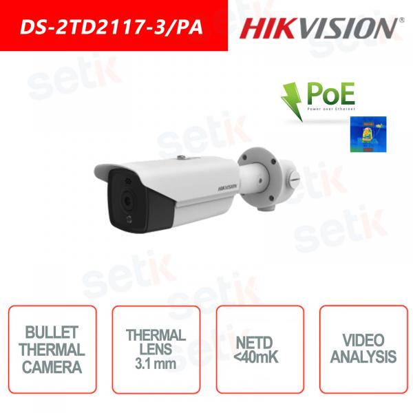 Telecamera Bullet Termica Hikvision