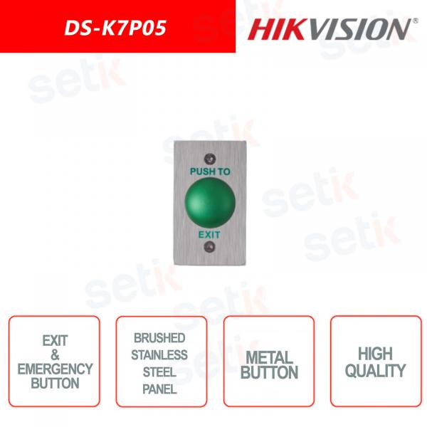 Hikvision exit / emergency button