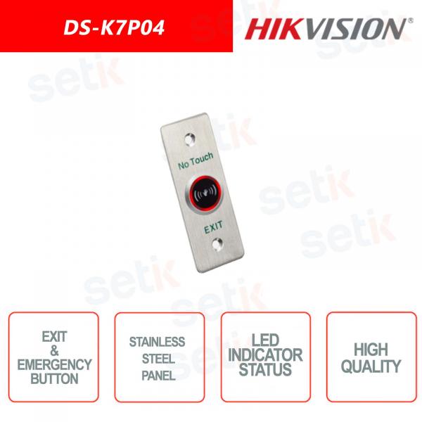 Pulsante uscita/emergenza Hikvision