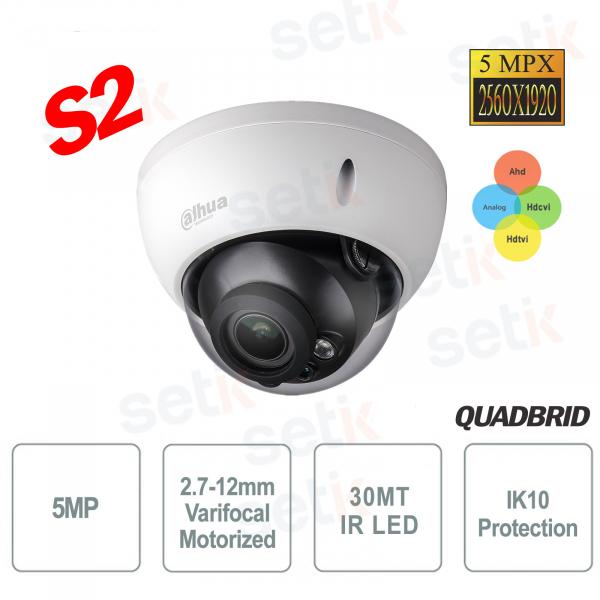 Dahua 4in1 Switchable Camera S2 5MP IR Motorized IK10