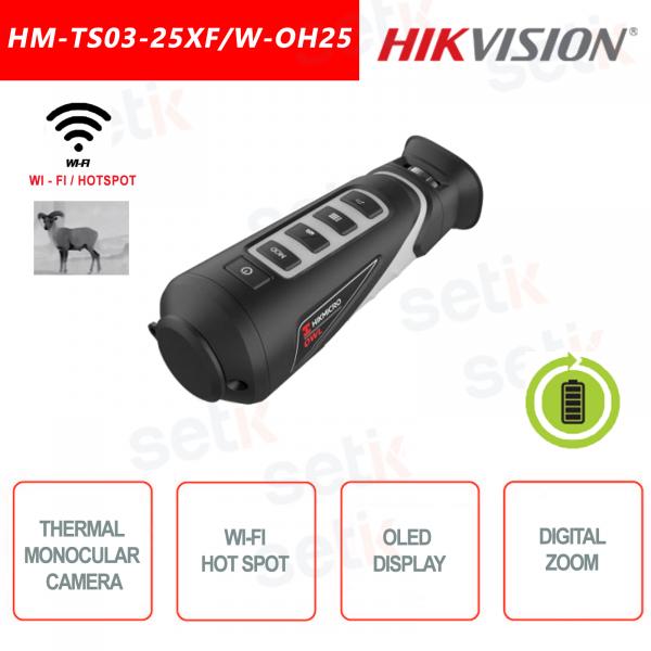 Termocamera monoculare portatile Hikvision HM-TS03-25XF/W-OH25