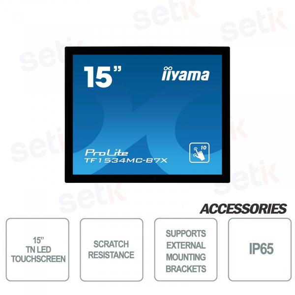 IIyama 15 inch tn led open frame tochscreen monitor