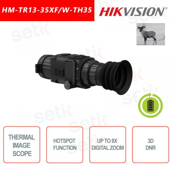 Termocamera monoculare Hikvision HM-TR13-35XF/W-TH35