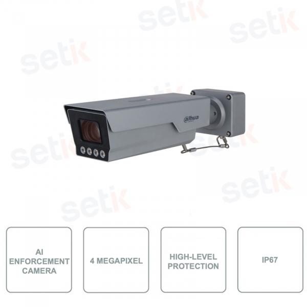 ITC431-RW1F-IRL8 - Telecamera AI Enforcement ANPR da 4MP - CMOS Ultra Starlight - Ottica 10-40mm varifocale