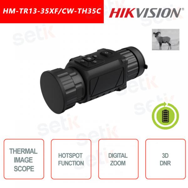 Termocamera monoculare Hikvision HM-TR13-35XF/CW-TH35C
