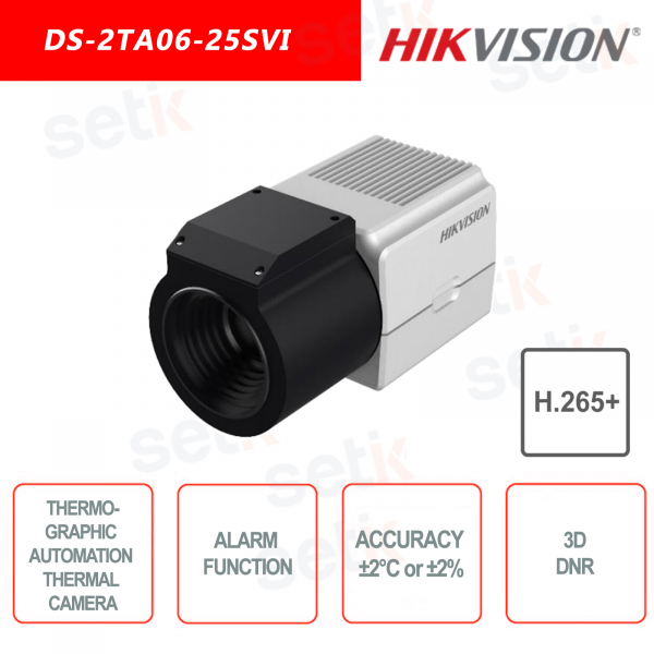 Hikvision DS-2TA06-25SVI thermal automation camera