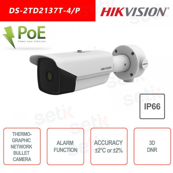 Telecamera termica Bullet Hikvison DS-2TD2137T-7/P