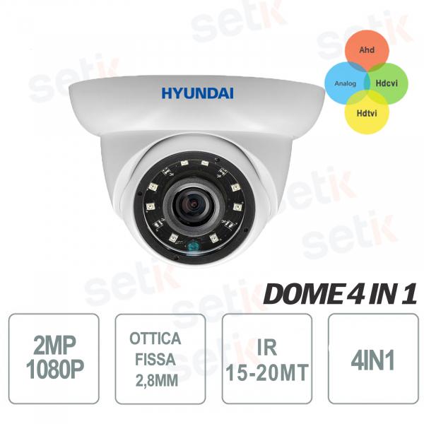 Hyundai 2MP 4 in 1 IR 12 LED Outdoor HD Camera