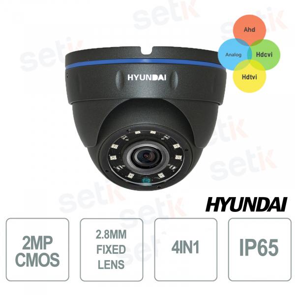 Hyundai 4in1 SMART IR 12 LED 15-20M outdoor dome camera