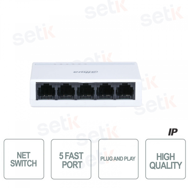 Switch 5 Fast Ports Plug and Play - D