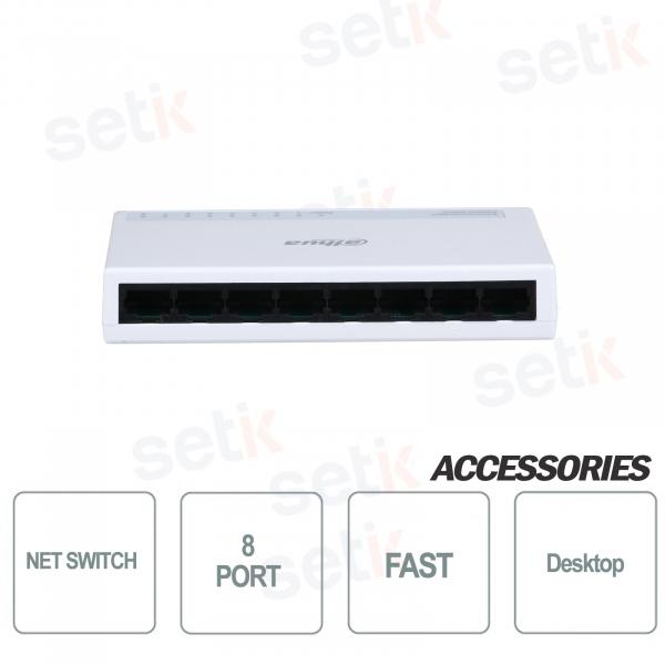 Switch di rete 8 Porte Desktop Fast Veloce - Dahua