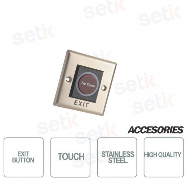 ASF908 Pulsante Uscita in acciaio Inox Touch - Dahua