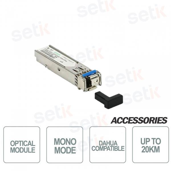Mono-modal optical fiber 155Mbps TX / RX 1550nm / 1310nm 20KM LC D