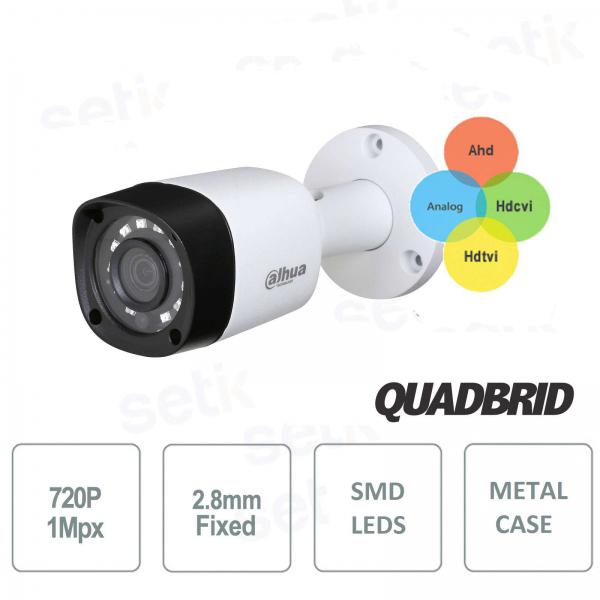 Telecamera HD 720P Dahua 4in1 HDCVI / HDTVI / AHD / ANALOGICA 2.8mm