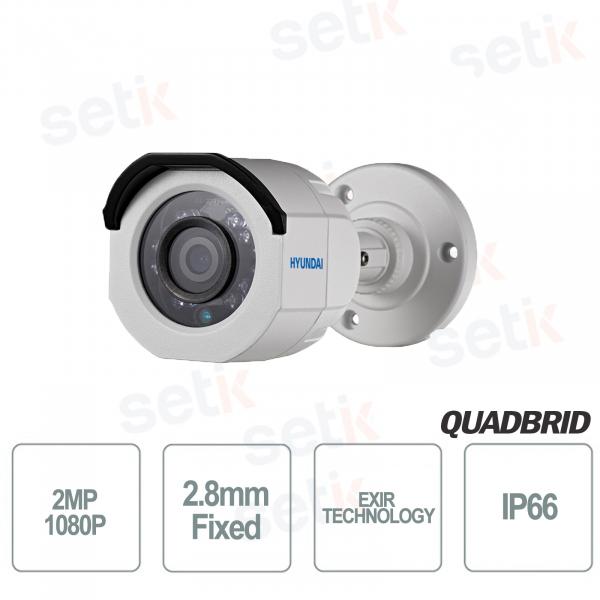 Hyundai 2MP 4 in 1 bullet 2.8mm IR video surveillance ca