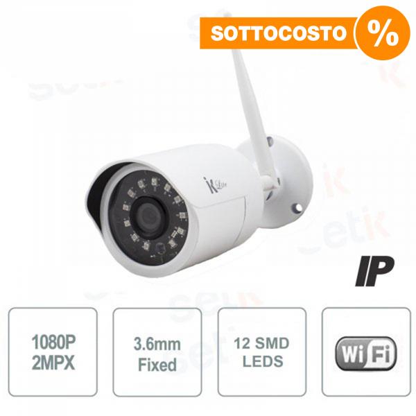 Telecamera IP Standalone 2MP Bullet 3.6mm IR Wireless - Setik