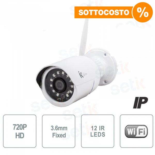 Telecamera IP 1MP Standalone Bullet 3.6mm IR Wireless - Setik