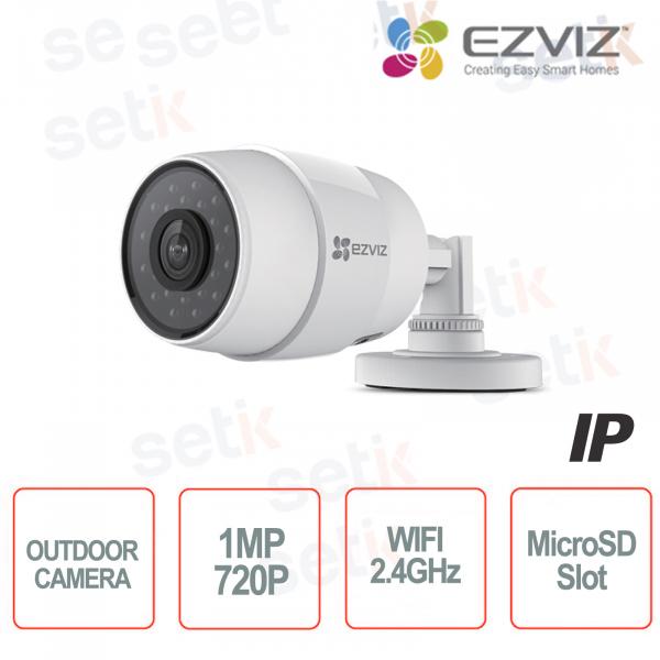 C3C Ezviz Telecamera IP da esterno WIFI 720P 2.8mm IR MicroSD Hikvision
