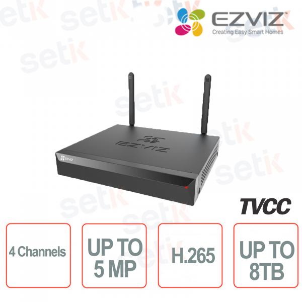 Ezviz Videoregistratore 5 Megapixel 4 Canali fino a 8 TB