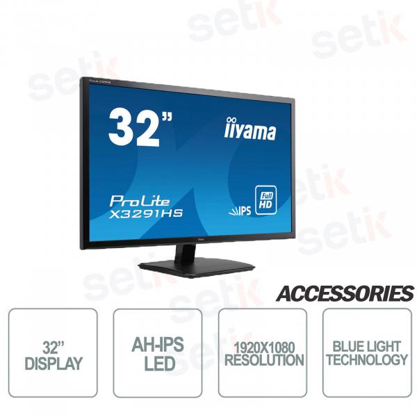 "Prolite 32 ""IPS FULL HD 5ms Speaker Blue Light Monitor - IIYAMA"