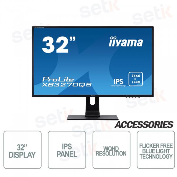 "Monitor Prolite 32"" IPS FULL HD 4ms Flicker Free Speaker Blue Light - IIYAMA"