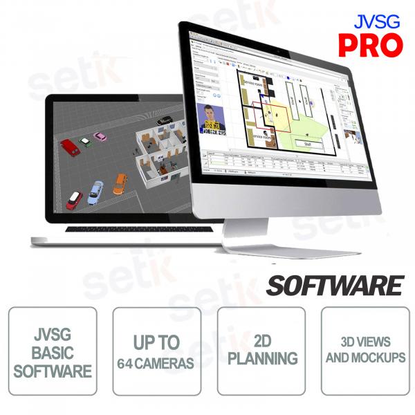 Pro JVSG CCTV Software for video surveillance systems ip design tool