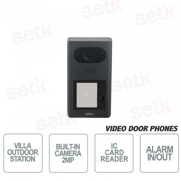 Dahua video door phone for IP Villas PoE-1 Button-2MP