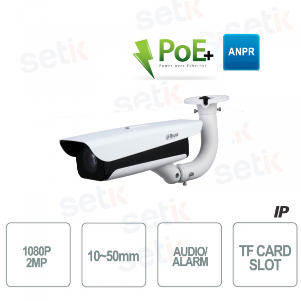 Dahua IP Camera 1080P Varifocal Lens IR ANPR Bracket Included