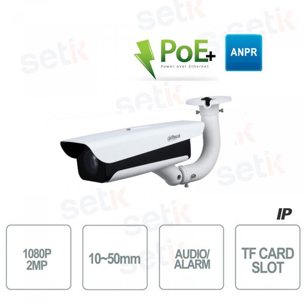 Telecamera Dahua IP 1080P Ottica Varifocale IR ANPR Staffa Inclusa