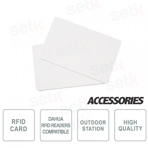 Tessere RFID per postazioni esterne predisposte - Dahua