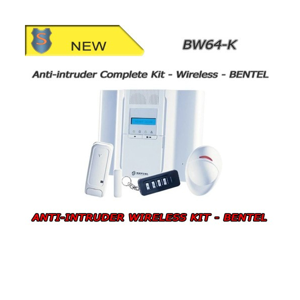 Complete Antitheft Kit - PIR 64 Zones - Bentel