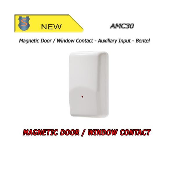 Door/Window Magnetic Contact w/ Aux. Input - Wireless Device (433 MHz) - Bentel