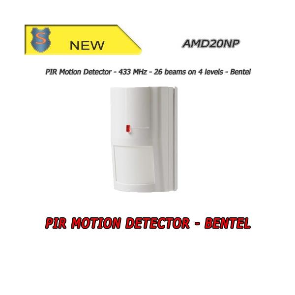 PIR motion detector - Wireless Device (433 MHz) - Bentel