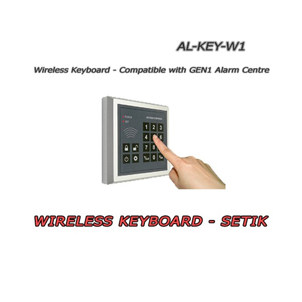 Wireless keyboard for GEN1 control panels series