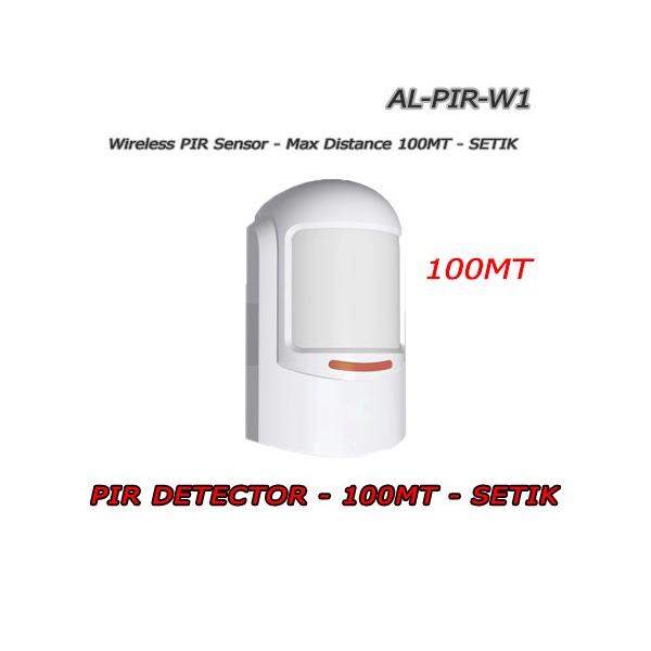 PIR Wireless Detector 100mt - SETIK