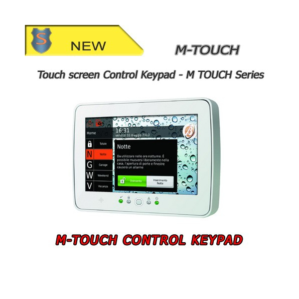TouchScreen Keypad for Absoluta Series control panels - Bentel