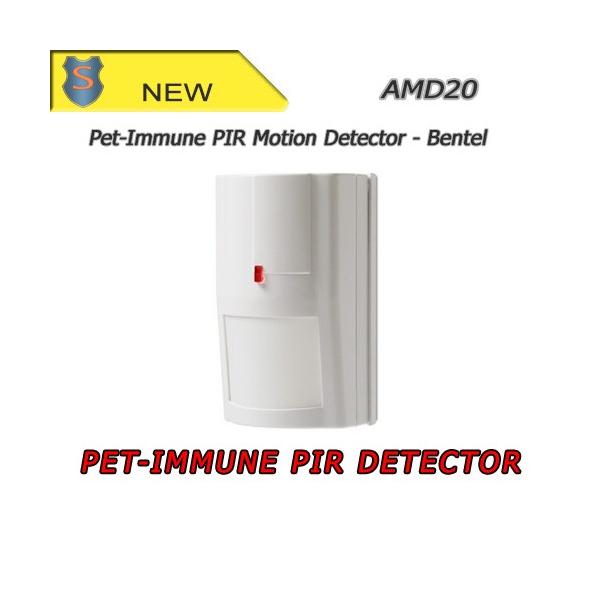Pet-Immune PIR Motion Detector - Wireless Device (433 MHz) - Bentel