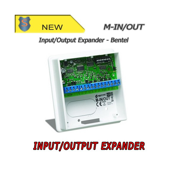 Input/Output Expander for Bentel Control Panels