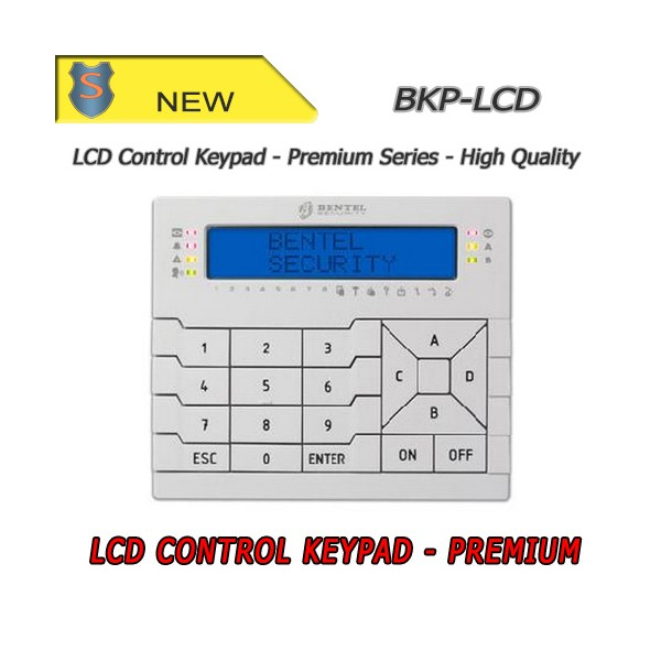 Premium LCD Keyboard - Bentel