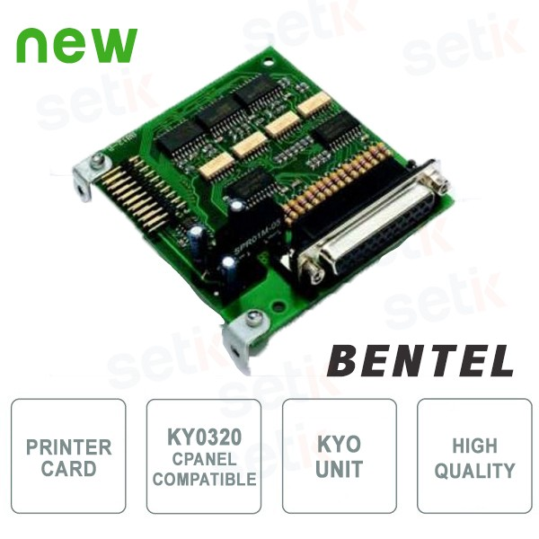 Printer board for KY0320 control unit - Bentel Security