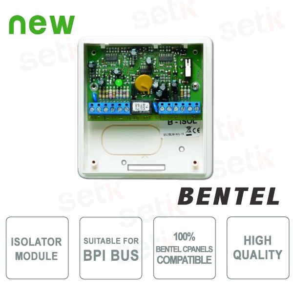 Fault Isolator Module for Bus BPI - Bentel