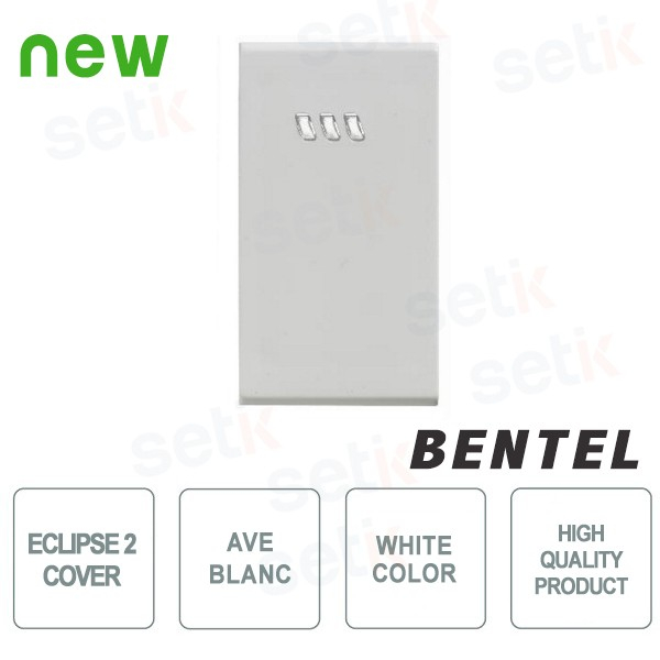 COVER FOR ECLIPSE 2 PROXIMITY READERS - AVE BLANC SERIES - BENTEL - ECL2C-ABI