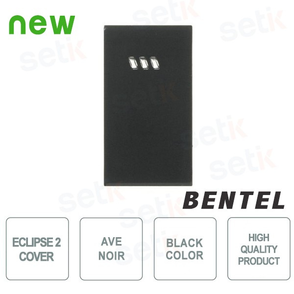 COVER FOR ECLIPSE 2 PROXIMITY READERS - AVE NOIR SERIES - BENTEL - ECL2C-AN
