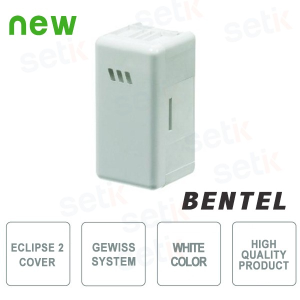 Cover for Eclipse 2 proximity reader - Gewiss System White - Bentel